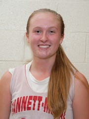Katie Johns, Fannett-Metal girls basketball