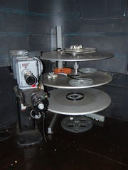 The Parkland Theatre's original 35 millimeter projector