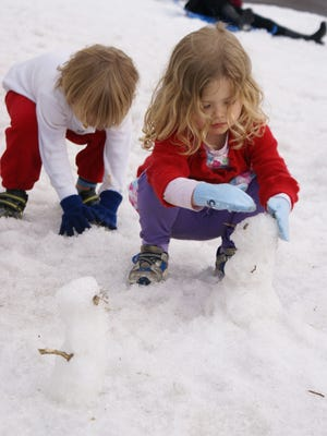 Experience real snow in the Sonoran Desert at the Carefree Christmas Festival with 30 tons of snow.
