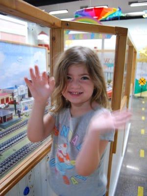 Lorelei Ciaravino loves the train.