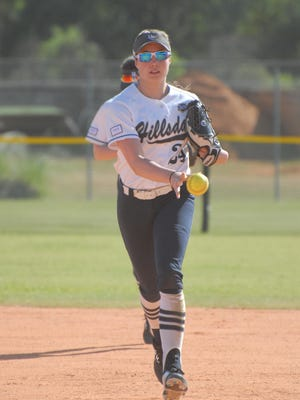 Victoria Addis helped lead Hillsdale's softball team to the 2018 and 2019 Great Midwest Athletic Conference Tournament championships.