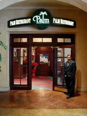 The Palm restaurant. Photo provided.