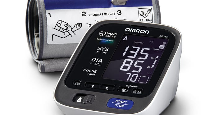 Blood pressure monitors can be purchased from a variety of sources, including drugstores, discount stores and online, for less than $100, or higher.