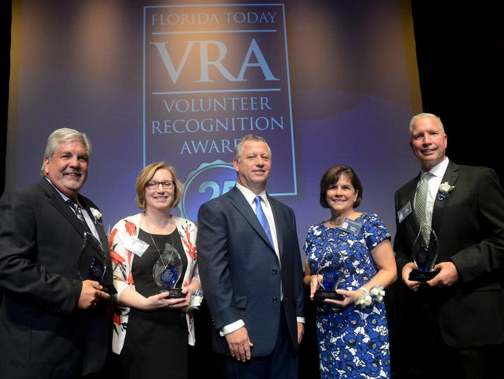Presenting the award winners at the 25th annual FLORIDA