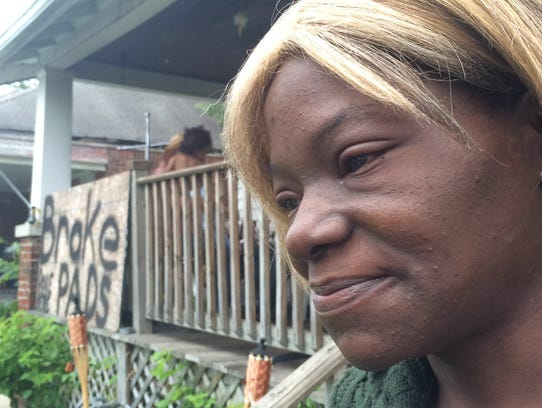 Nicole Jackson, 40, mourns the loss of her two grandchildren