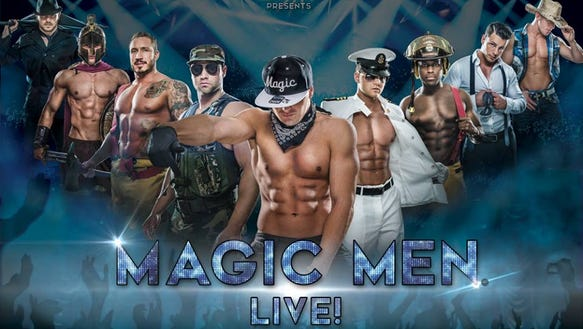 The Magic Men Live! act will make a stop in Fresno