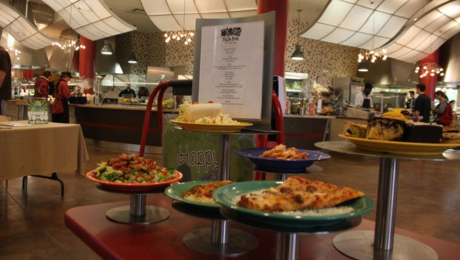 Fresh Foods is one of the dining facilities furnished by the university's contract with Aramark.