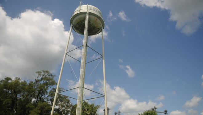 The water tower in Frankford