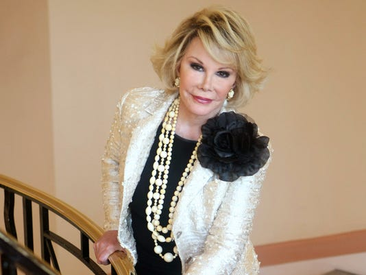 AP JOAN RIVERS I FILE ENT FRA