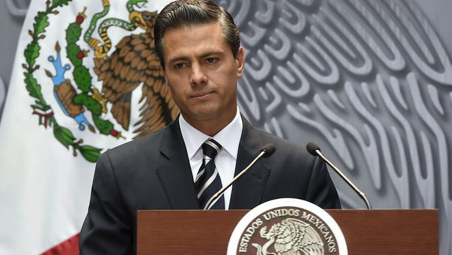 A construction company questioned with links to the Mexican president won't be rebidding on a high-speed rail project.