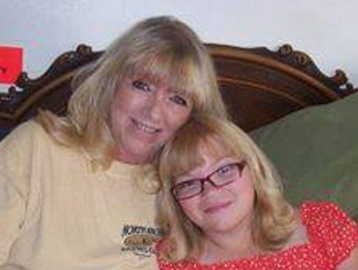 """""""My mom Phyllis fisher and my daughter Hayleigh...love u mom."""""""