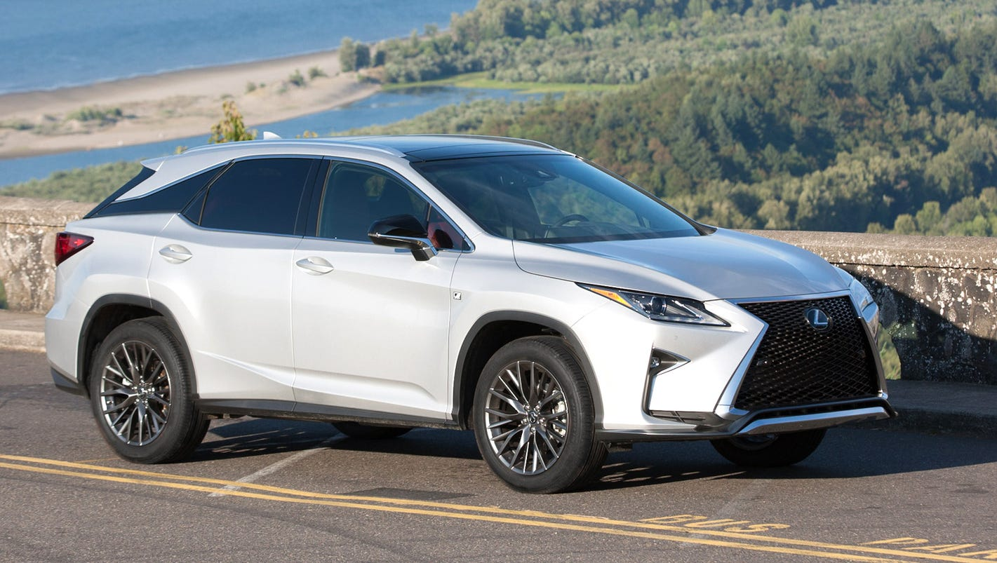 review: 2016 lexus rx 350 comforts, doesn't innovate