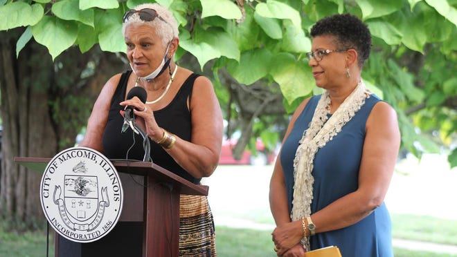 C.T. Vivian's daughters, Jo Ann Walker and Denise Morse make a few statements about their father.