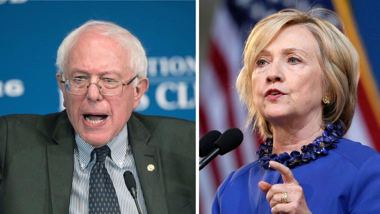 Bernie Sanders and Hillary Clinton will join fellow