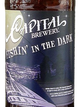 Fishin' in the Dark from Capital Brewery Co. in Middleton, Wis., is 7.5% ABV.