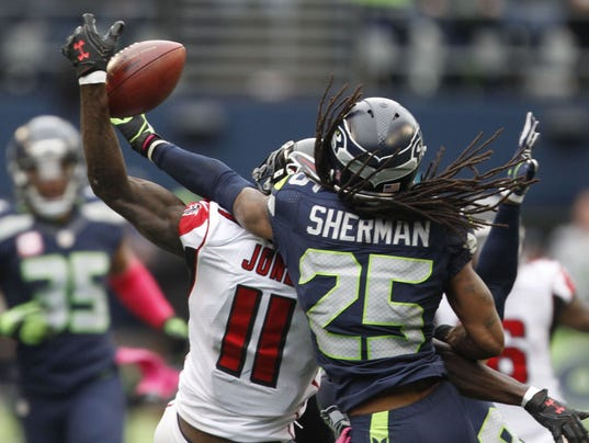 USP NFL: ATLANTA FALCONS AT SEATTLE SEAHAWKS S FBN USA WA