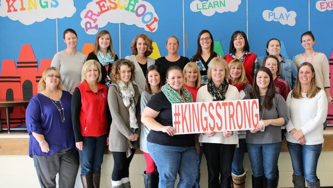 The Kings Preschool Program recently received the Ohio Department of Education's Five-Star Step up to Quality Award. Pictured here are the staff members for the 15 classes held at the Kings Education Center.