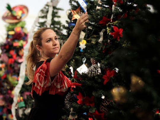 Wednesday is the last day to view the Christmas Tree Forest: A Reading Wonderland at the Art Museum of South Texas.