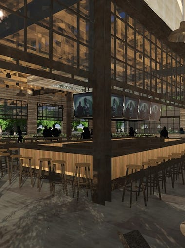The live-music restaurant and bar Dierks Bentley's Whiskey Row in Gilbert is expected to include a 4,700-square-foot patio, dance floor and outdoor game area when it opens late in 2016, to the tune of $6.5 million.  The 8,700-square-foot restaurant is on Gilbert Road between Vaughn and Page avenues.