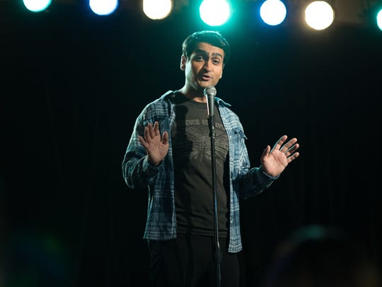 Kumail Nanjiani stars as a stand-up comedian in 'The