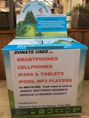 Look for these collection boxes placed by the Woman's