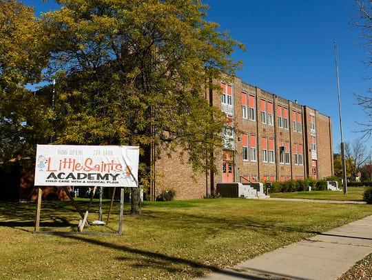Wilson Elementary School, which houses Little Saint's