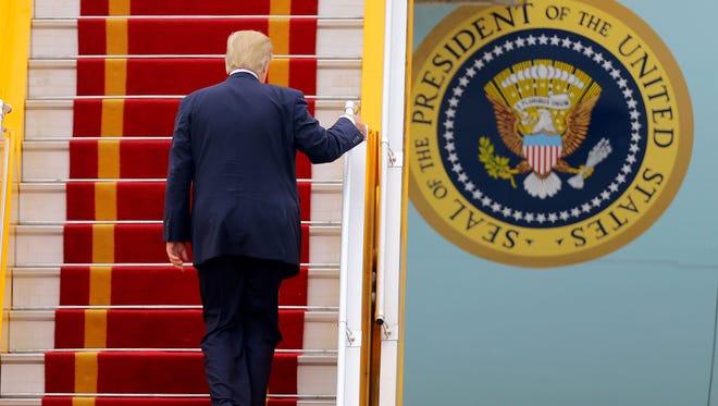 President Trump in Hanoi