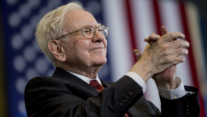 Berkshire Hathaway Chairman and CEO Warren Buffett,