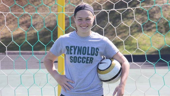 Makayla Ballanger and the Reynolds soccer team are off to a 3-0-0 start to this season.