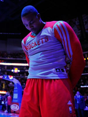 Rockets center Dwight Howard has thrived since leaving the Lakers.