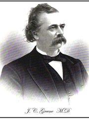 Portrait of Dr. Joseph C. Greene, a native of Lincoln.