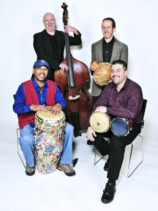 Latin jazz group Duende Quartet will perform Aug. 2 in Washington County Museum of Fine Arts, Hagerstown, Md.