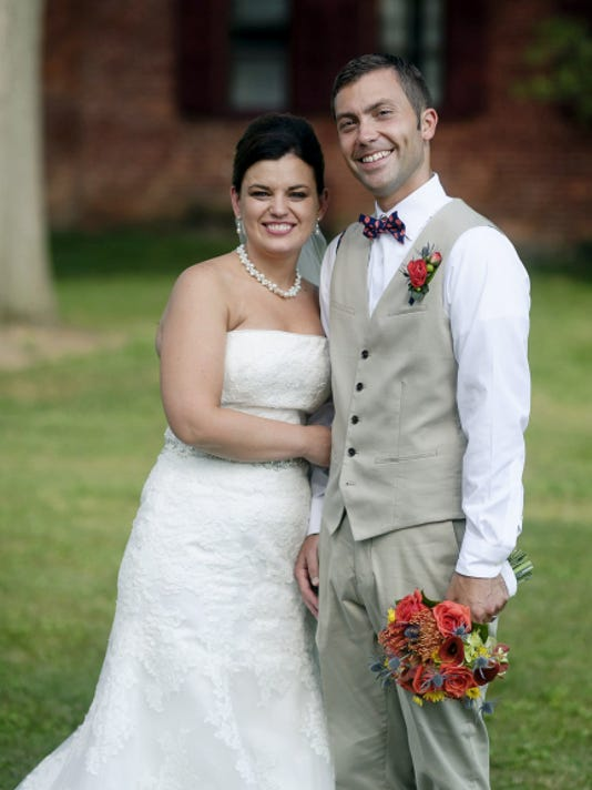 Amy Martin and Jason Balsbaugh were married on August 1, 2015.   Submitted