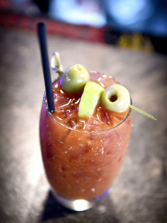 The fan favorite Bloody Mary served at the Gin Mill in Lebanon isn't complete until a secret mix of spices is poured into the spicy beverage. The Gin Mill Bloody Mary Mix includes a three peppered Vodka mix.