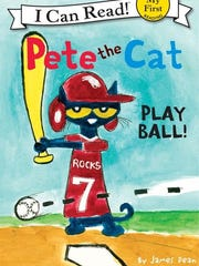 'Pete the Cat — Play Ball!' by James Dean