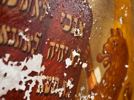 A mural that was painted in 1910 has been uncovered