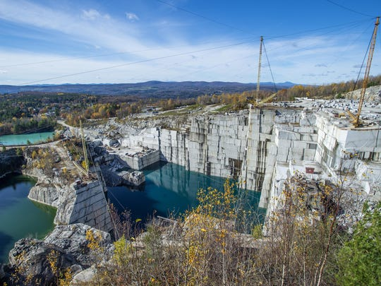 Rock of Ages E. L. Smith quarry in Graniteville seen on Oct. 27, 2017.