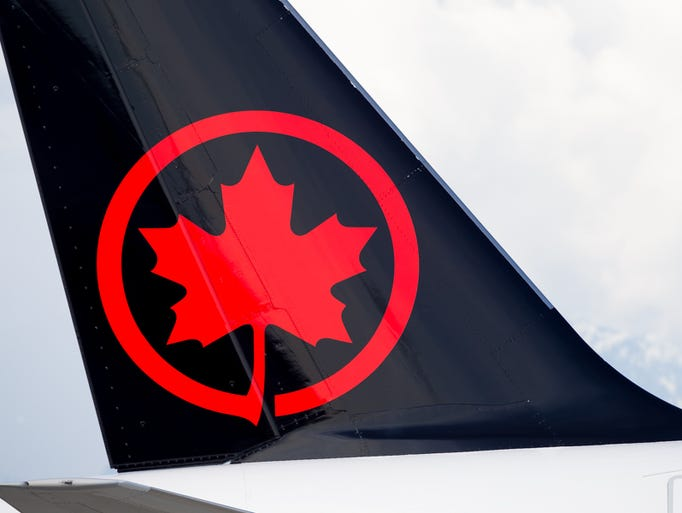 An Air Canada aircraft is seen at Canada's Vancouver