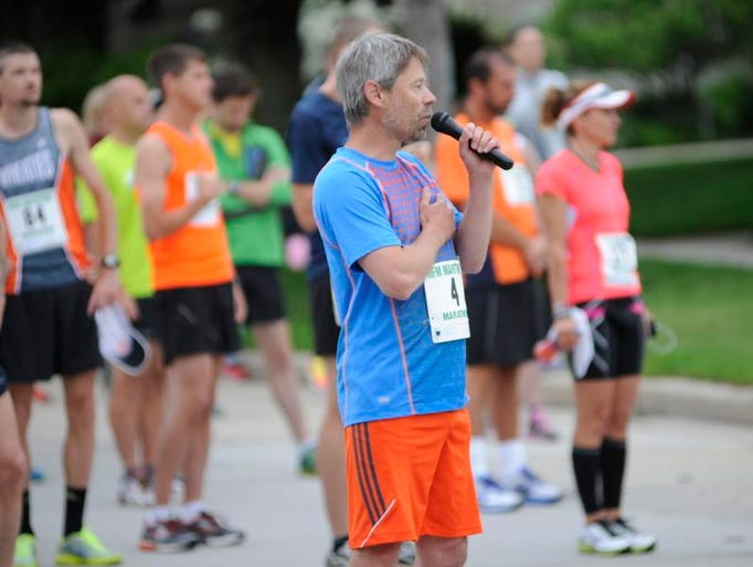Hundreds compete in the 3rd annual Holy Family Memorial Maritime Marathon on Sunday, June 22, 2014 in 26.2 mile course that stretches between Manitowoc and Two Rivers.