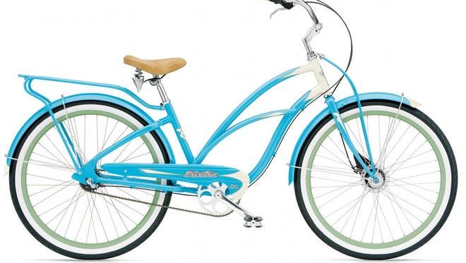 Electra Super Deluxe beach bike.
