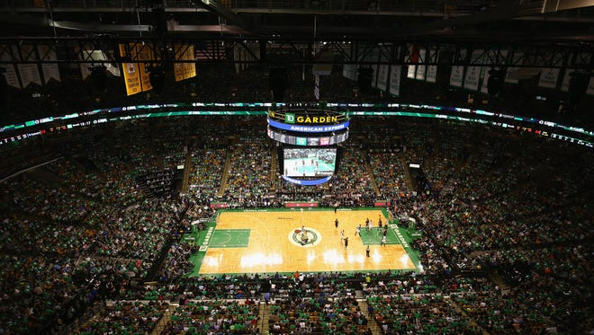 A general view of Boston's TD Garden.
