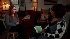Dylan Farrow speaks with CBS's Gayle King for her first