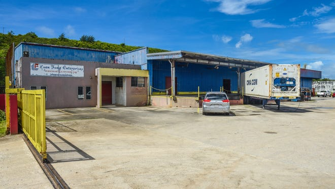 The Luen Fung Enterprises warehouse, located in the Harmon Industrial Park, on Tuesday, June 19, 2018.
