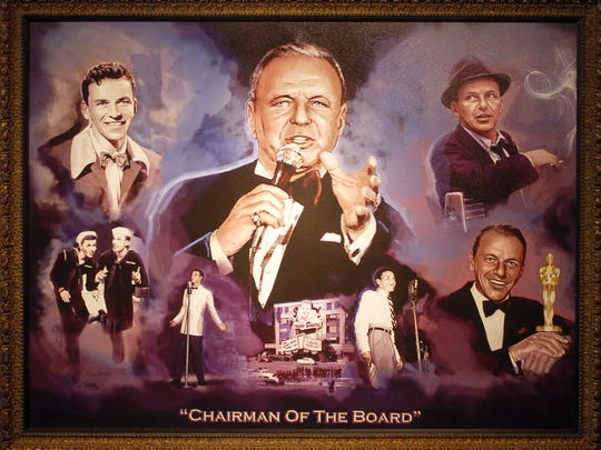 """Chairman of the Board""  by Eugene Mosley."