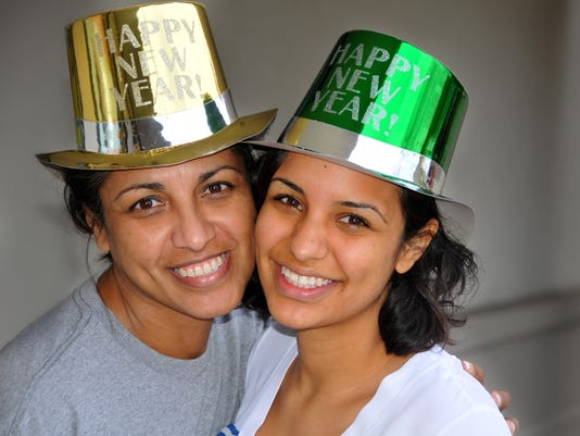 New Year hats