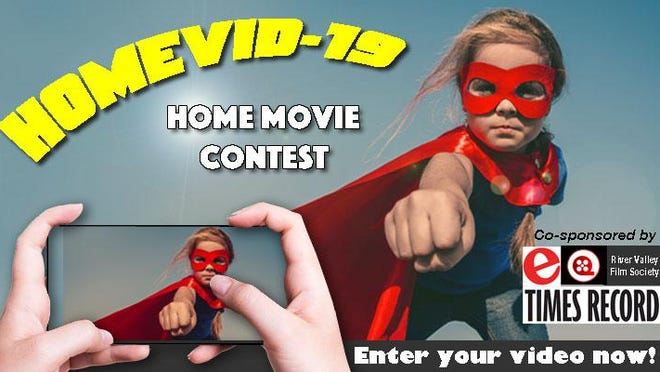 Entries to River Valley Film Society's HOMEVID-19 Home Video Contest will be screened 8:30 p.m. Friday at Fort Smith Brewing Co., 7500 Fort Chaffee Blvd. in Chaffee Crossing.