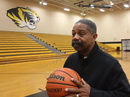 Winston Jarrett is the head coach of the boys basketball team at Halls High School, a position he has held for 36 years.