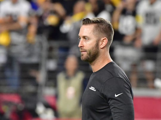 Kliff Kingsbury's coaching staff is undergoing some changes for 2020. USA TODAY Sports
