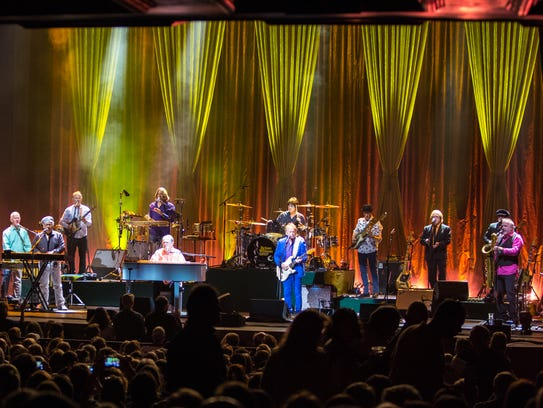 "Brian Wilson performing ""Pet Sounds"" at the Murat Theatre"