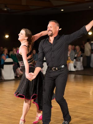 """Dancing with the CLC Stars"" raised more than $84,000 to benefit Children's Law Center. Here are Barry Applegate and Candace McCreary."